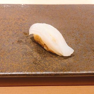 いかの握り(鮨 青海)