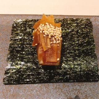 かんぴょう巻き(鮨 青海)