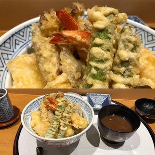 季節のお薦め天丼(てんぷら 山の上 三越日本橋店内 )