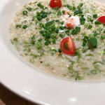 タラバ蟹と海苔の玄米リゾット