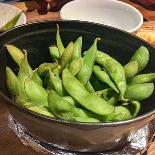 枝豆のスモーク(ディプント 銀座7丁目店)
