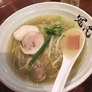 味玉鶏清湯らぁめん(らぁめん冠尾)