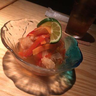 白身魚の南蛮漬け(お酒と和ごはん KINJO)
