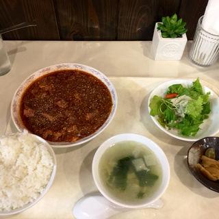 四川麻婆豆腐ランチ(激辛)(中国料理 鈴 )