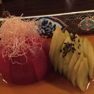 トマトと胡瓜のお浸し(喜家 )