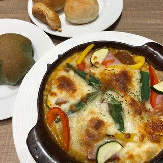 野菜の焼きカレードリア