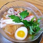 冷製煮干そば(醤油)