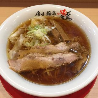 ふわとろワンタンメン(優味麺亭 鸐(やまどり))