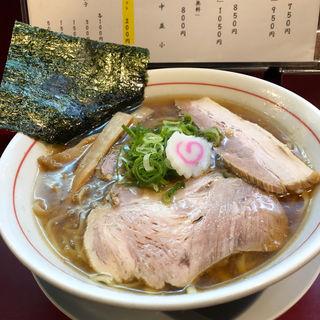 冷し魚介醤油ラーメン(麺一盃 )