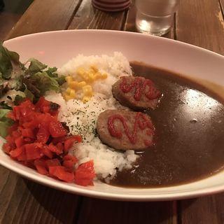 ハンバーグカレー(欧風屋 )