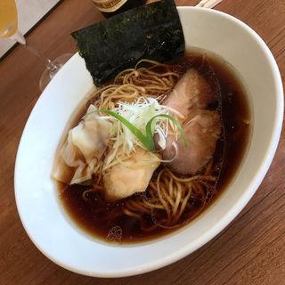 鴨 鶏 豚 醤油ラーメン(らぁ麺 川たか)