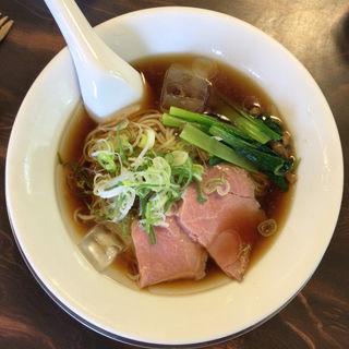 冷たい煮干し中華(湯の台食堂 )