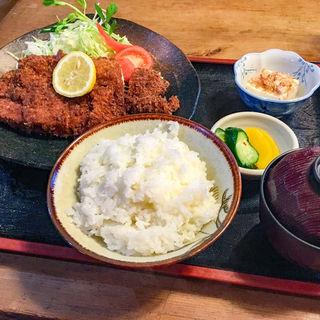 チキンカツ定食(かしまなだ 追分 (おいわけ))