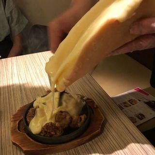 ラクレットチーズ 唐揚げ(KICHIRI 堺東駅前店)