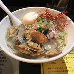 冷たいアサリの貝だしらー麺(塩生姜らー麺専門店 マニッシュ (塩生姜らー麺専門店 MANNISH))