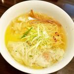 冷やし塩わんたん麺(Tsurumen 大阪城北詰店 )