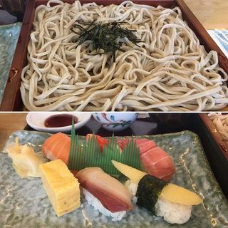 そばと寿司セット(和食レストランとんでん 月寒店 )