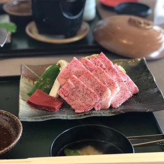 近江牛鉄板焼定食