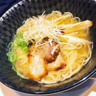 ネギ塩拉麺(京都拉麺 信長 四条河原町店)
