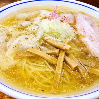 塩わんたん麺(福々亭 (ふくふくてい))