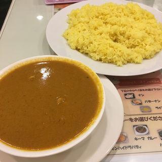 日替わりカレーセット(チキンドピアザ)(インドキッチン )