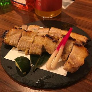 豚肉の西京焼焼き(ダイニングバートーキョー)
