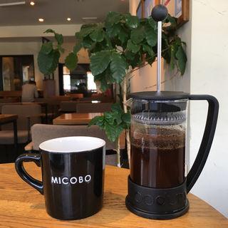 ホットコーヒー(フレンチプレス)(MIKAGE COFFEE LABO )
