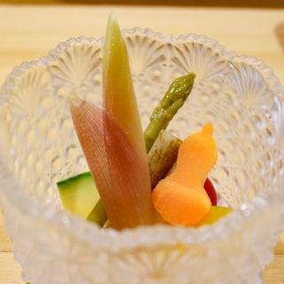 ピクルス(鮨まつ本)