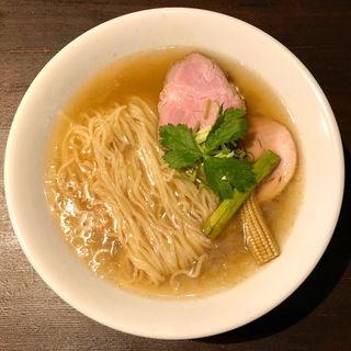 煮干しと鶏の冷やし麺(麺屋玉ぐすく )