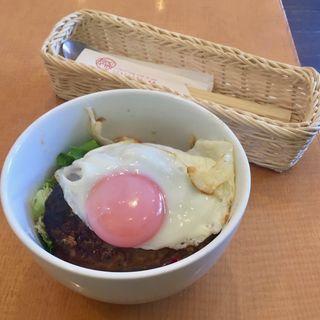 とろ旨たまごのロコモコ丼(Cafe Lychee (カフェライチ))