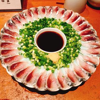 鰯の薄造り(日本料理 岩戸 銀座店)