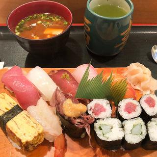 上寿司定食(寿司処 福喜 (すしどころ・ふっき))