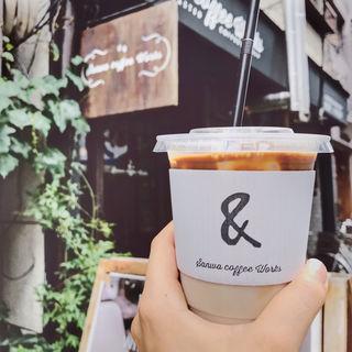 ソイラテ(サンワ コーヒー ワークス (SANWA COFFEE WORKS))
