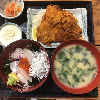 ランチセット(漁協食堂うずしお )