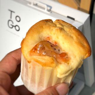 サーモンとクリームチーズのマフィン(To Go kurumamichi)