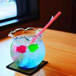 金魚鉢ソーダ(桜物語)