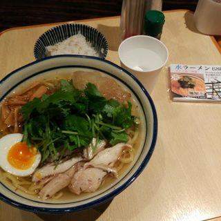 水ラーメン(麺屋 水)