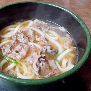 肉うどん(三福)