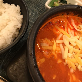 チーズタッカルビスンドゥブ(東京純豆腐 HEPナビオ店 )
