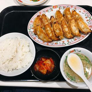 餃子W定食(餃子の王将 蒲田東口店 (ギョウザノオウショウ))