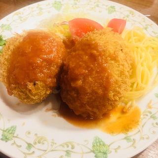 かにコロッケ(神谷バー)