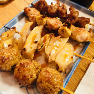 串盛り(居酒屋 かのや 上野店 )