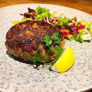 京都牛100%ハンバーグ(肉ばたけ)