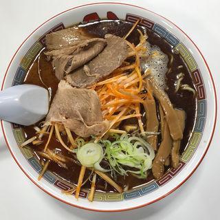 辛ネギ醤油ラーメン(蜂屋 旭川本店)