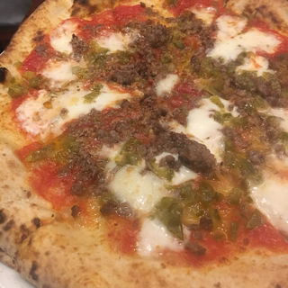 挽肉とハラペーニョピザ(エッセドゥエ (ESSE DUE))