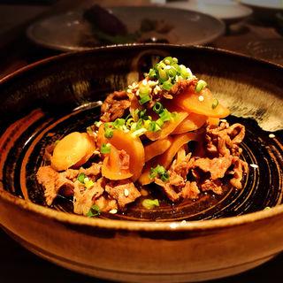 新生姜と牛肉のきんぴら(酒井商会)
