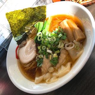 ワンタン麺(らぁめん 風和梨)