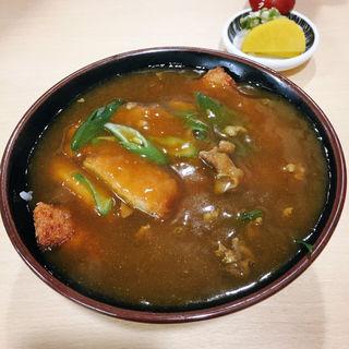 カツカレー丼(たけふく)