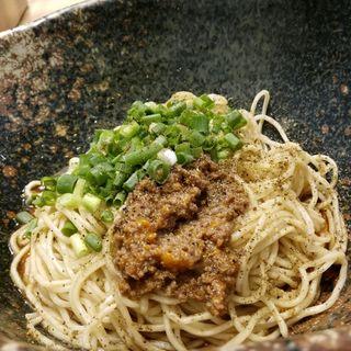 汁なし坦々麺(汁なし担担麺専門 キング軒 銀座出張所)