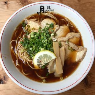 紀州だし醤油ラーメン(麺dining月乃家 (メンダイニングツキノヤ))